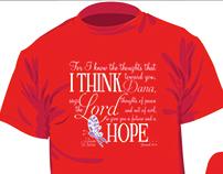 Team Dana: Pancreatic Cancer Awareness Shirt