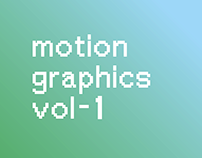 Motion Graphics Exercises vol-1