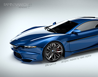 BMW sportcar design