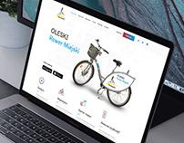 Rower miejski / webdesign