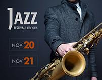 Jazz Festival | Flyer