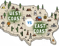 The Differences Between the West and East Coast Finance