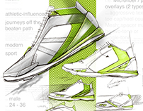 Footwear renders - projects '09-'12
