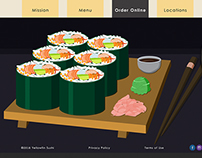 Yellowfin Sushi: Vector Graphics, Web Design