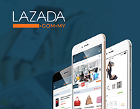 Lazada Ecommerce Mobile Web Design