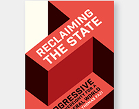 Draft covers for 'Reclaiming the State'