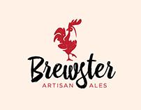 Brewster Artisan Ales Logo