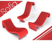 Cadeira para apoio em paredes de áreas externas