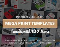 120 Mega Print Templates Bundle – Only $39
