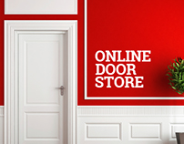 Online store of doors and accessories. E-commerce