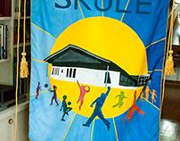 Vågåmo school banner