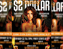 Two Dollar Tuesday - Club A5 Template