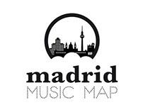 Imagen corporativa. Madrid Music Map.