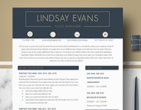 Professional & Modern Resume Template Ms Word & Pages