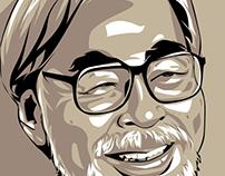 Studio Gibli (Hayao Miyazaki) on Vector Art