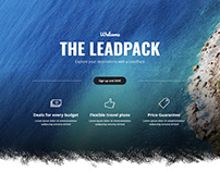 LeadPack - Travel Landing Page