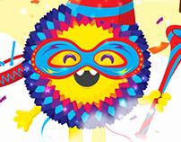 Personajes Chicky Fiestas