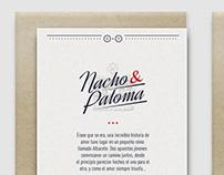 Wedding Card / N&P