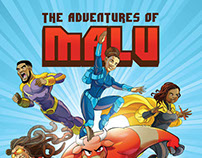 """MALU"" comic pitch for Red Bull Nigeria"