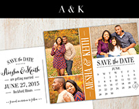 AIESHA + KEITH | SAVE THE DATE