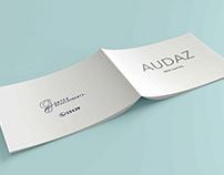 AUDAZ Arabic Brochure Design