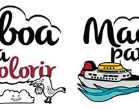 Lisboa Para Colorir  //   Madeira Para Colorir