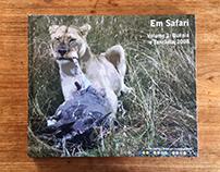 """Book """"Em Safari volume 1: Quénia e Tanzânia, 2008"""""""