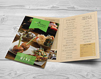 'Dish 8' Food Menu