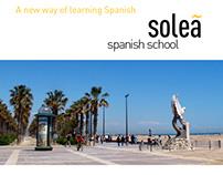 Folheto Escola de Espanhol para Estrangeiros