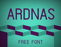 Ardnas - Free Font