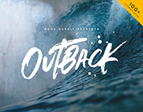 Outback Brush Font