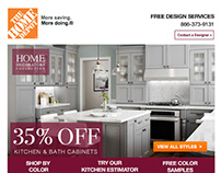 Home Decorators Collection Email Creatives