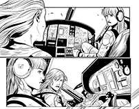 Digital Comics Inking Red Agent - The Human Order #1