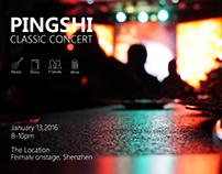 PINGSHI Classic concert