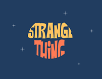 UI Design - Strange Thing