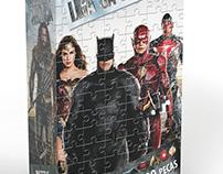 Puzzle 200 Peças Liga da Justiça