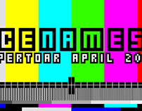 Scene MESS 2016 / Monthly Repertoire / April