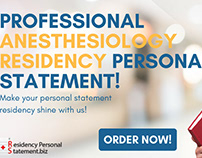 professional anesthesiology residency ps