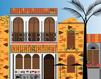 Las Casas del Casco Viejo (Panama Colonial District)