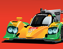 Mazda 1991 Le Mans Livery