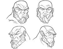 LegenBorn character design study