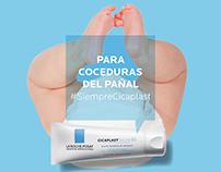 Digital Campaign #SiempreCicaplast La Roche-Posay Chile