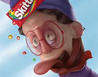 Skittles • Flip the rainbow, taste the rainbow