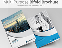 Multipurpose Bi-fold Brochure Vol-13
