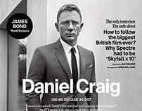 Greg Williams + Esquire UK + Daniel Craig