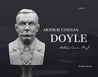 Arthur Conan Doyle   Website concept   Literature