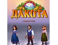 DAKOTA FARM ADVENTURE_characters