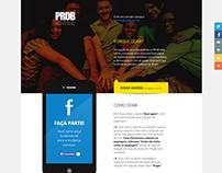Página de Doações - PRDB