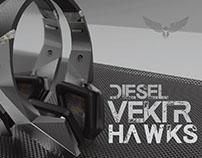 DIESEL VEKTR HAWKS - Skin Design