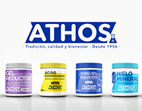 BRANDING AND PACKAGING ATHOS